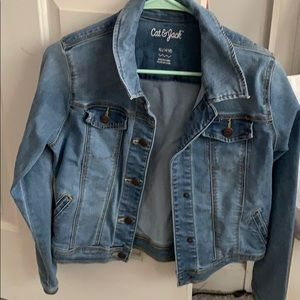 Cat and jack jean jacket